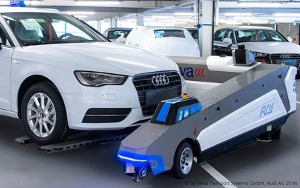RAY™ on duty at the AUDI plant in Ingolstadt, Germany