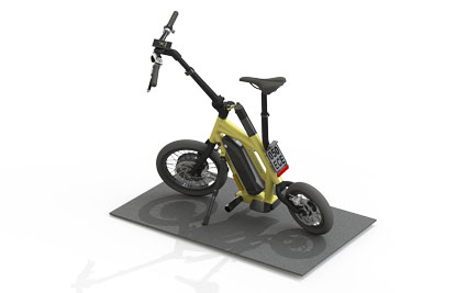The E-Scooter STEEREON of PLEV Technologies GmbH
