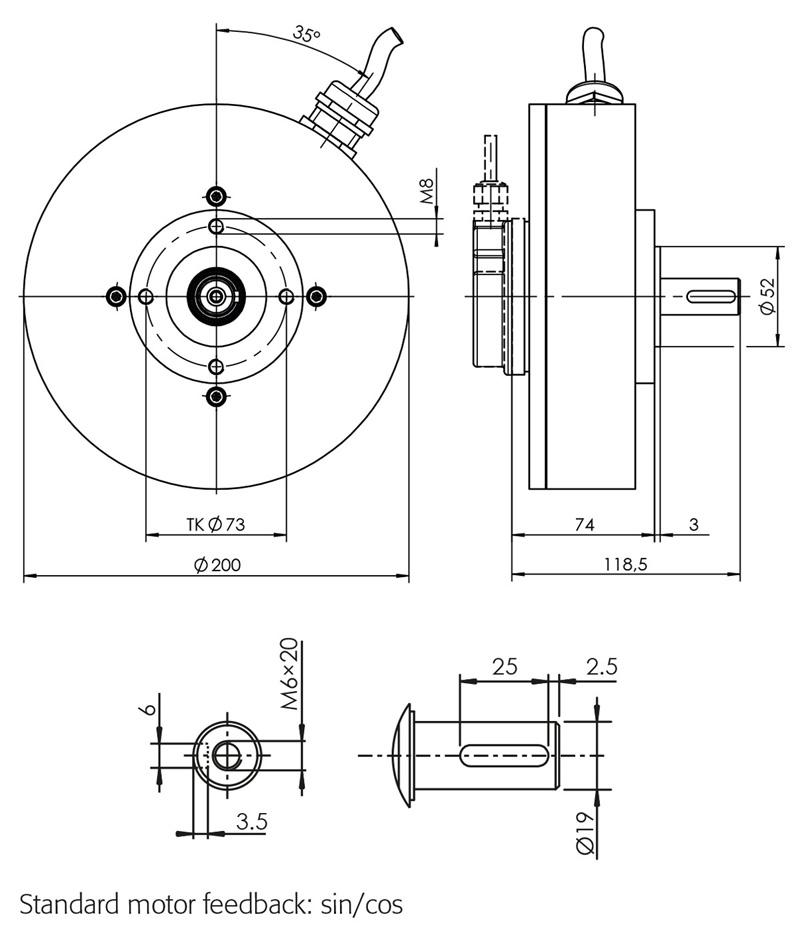 pms flat disc motors